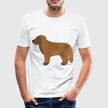 Leonberger - Herre Slim Fit T-Shirt