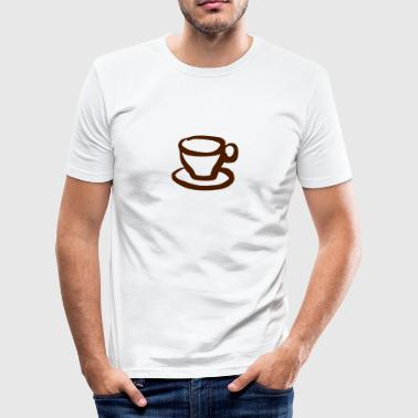 Cup - Sketch - Men's Slim Fit T-Shirt