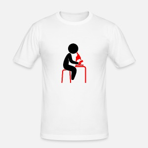T-shirt slim fit herr