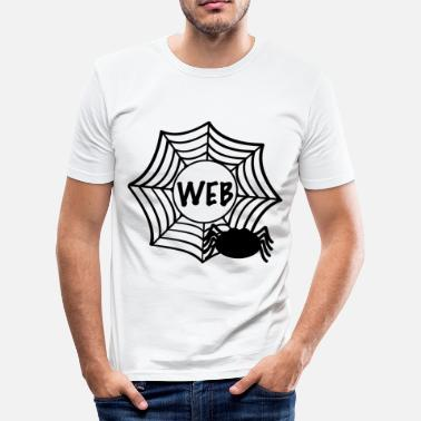 Web web - slim fit T-shirt