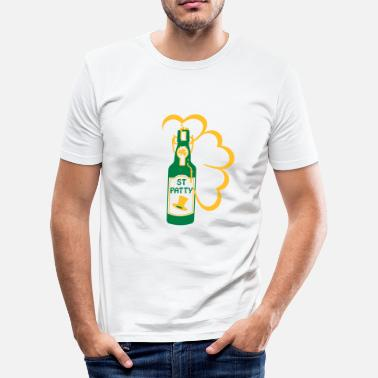 Patty st patty bottle (2c) - Herre Slim Fit T-Shirt