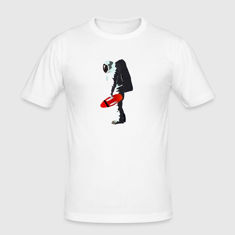 Space Lifeguard - Men's Slim Fit T-Shirt