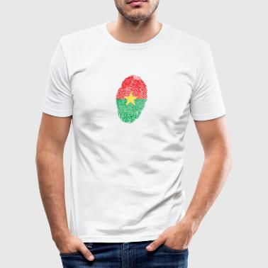 Burkina Faso Burkina Faso Footprint - Men's Slim Fit T-Shirt