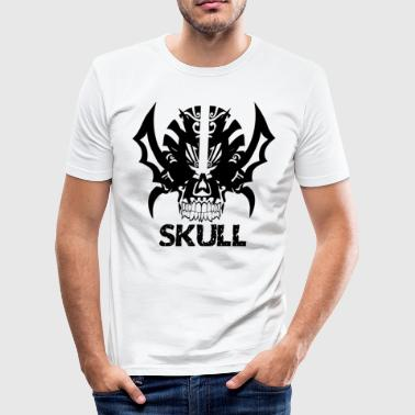 Heavy Metal SKULL HEAVY METAL Totenkopf Hardrock - Männer Slim Fit T-Shirt