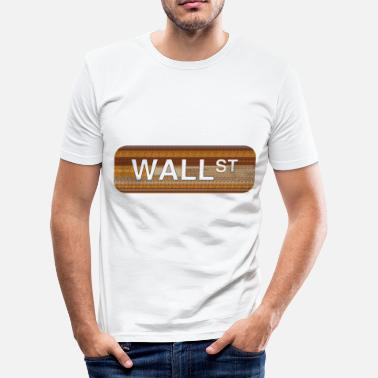 Wall Street Wall Street - slim fit T-shirt