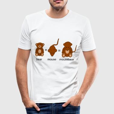 mausebär - Herre Slim Fit T-Shirt