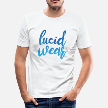Wear Lucid Wear - Slim Fit T-skjorte for menn