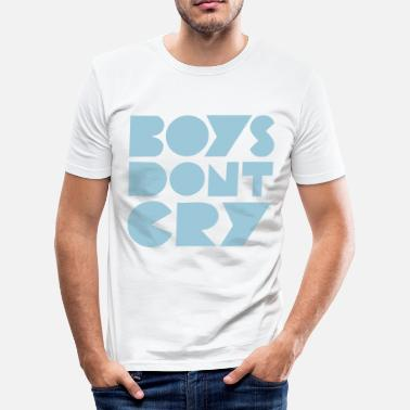 The Smiths BOYS DON'T CRY - T-shirt moulant Homme