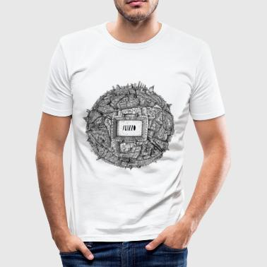 Madrid - Männer Slim Fit T-Shirt
