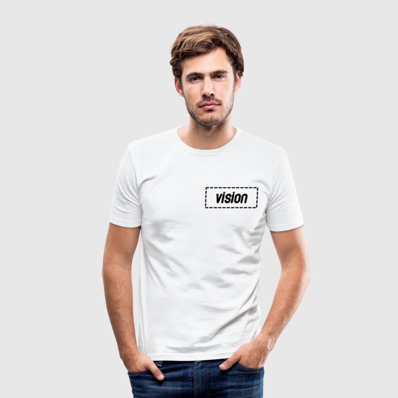 Vision Tshirt - Men's Slim Fit T-Shirt