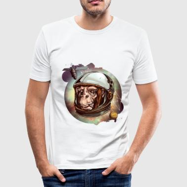 Chimp cosmic chimp - Männer Slim Fit T-Shirt