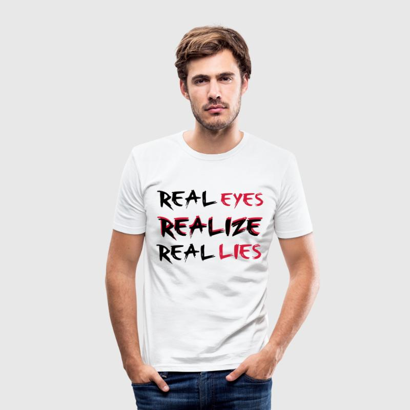 Realize - T-shirt près du corps Homme