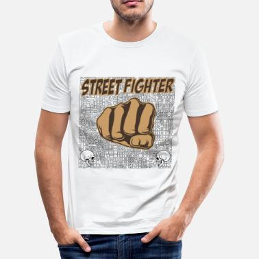 Street Fighter street fighters - Men's Slim Fit T-Shirt
