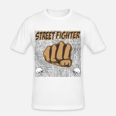 Street Fight street fighters - Men's Slim Fit T-Shirt