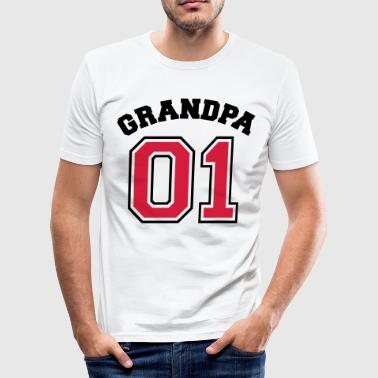 01 - 01 - opa-opa familie - gift - cool - slim fit T-shirt