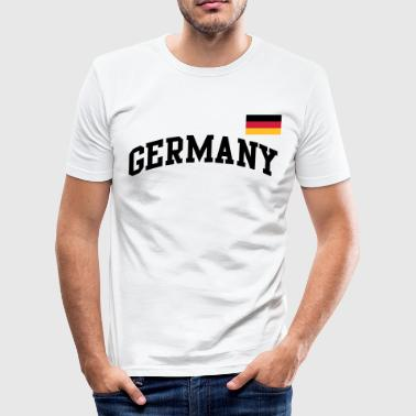Germany Germany flag - Germany Germany flag flag - Men's Slim Fit T-Shirt