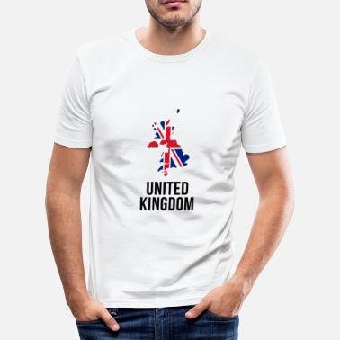 The British Empire United Kingdom - Borderlines - Men's Slim Fit T-Shirt