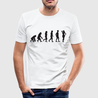 Evolution Hot Lady - Männer Slim Fit T-Shirt