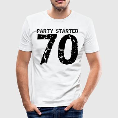 70 - Männer Slim Fit T-Shirt