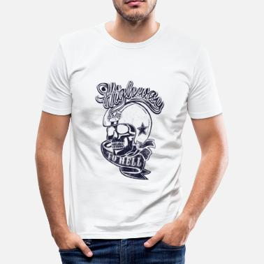 Highway To Hell Highway to Hell - Männer Slim Fit T-Shirt