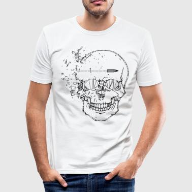 Shot Head - Männer Slim Fit T-Shirt