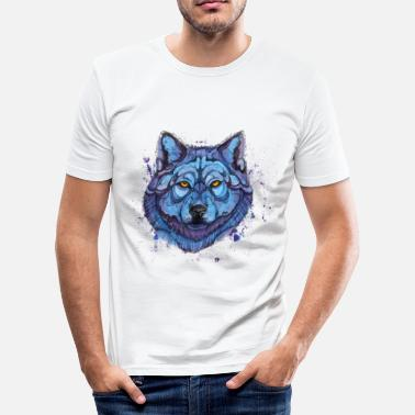 Animal wolf - Men's Slim Fit T-Shirt