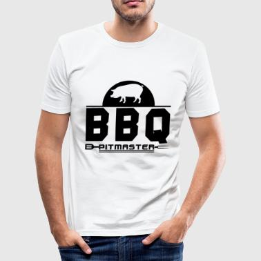 Grillmeister T-shirt Varkensvlees Steak Gift - slim fit T-shirt
