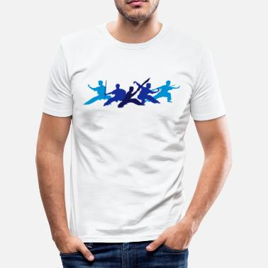 Wushu Wushu Fighters - Men's Slim Fit T-Shirt