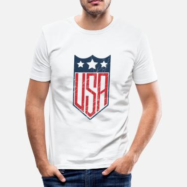 Shield USA Shield - T-shirt moulant Homme