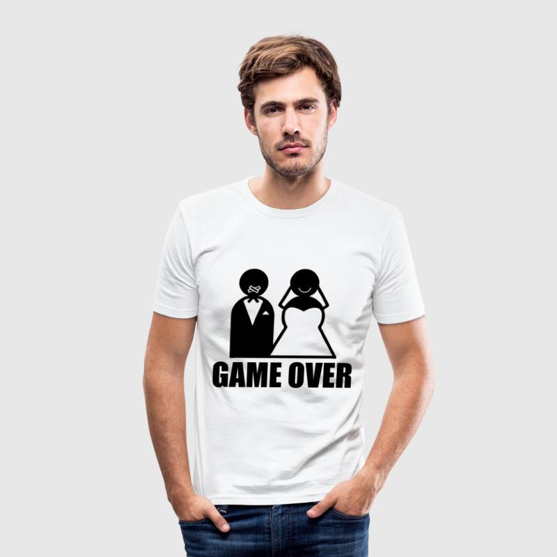Game Over weeding - Herre Slim Fit T-Shirt