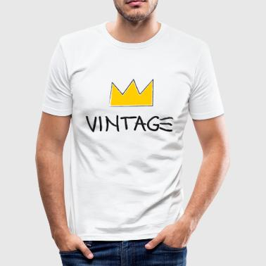 04 Vintageness 04 - Men's Slim Fit T-Shirt