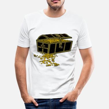 Chest Treasure chest - Men's Slim Fit T-Shirt