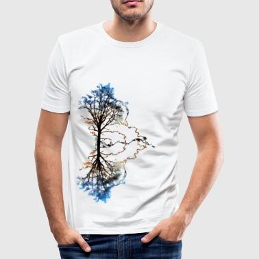 Two Trees - T-shirt près du corps Homme