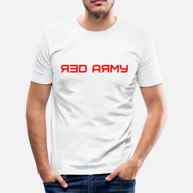 Red Army Red Army Design Soviet Russia Army - Men's Slim Fit T-Shirt