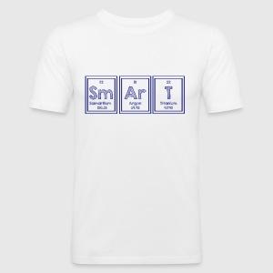 Camiseta tabla peridica sm ar t smart spreadshirt camiseta ajustada hombre urtaz Image collections
