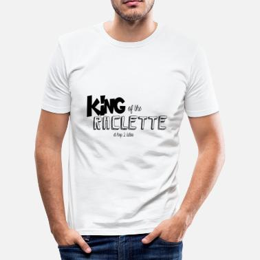 Roi King of the Raclette - T-shirt moulant Homme