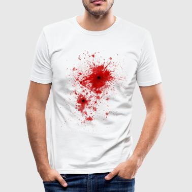 Bloedspatten / kogelwond - Costume  - slim fit T-shirt