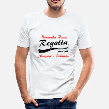 1906 Regatta Bermuda Race - Herre Slim Fit T-Shirt