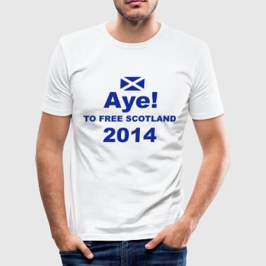 Aye - Men's Slim Fit T-Shirt