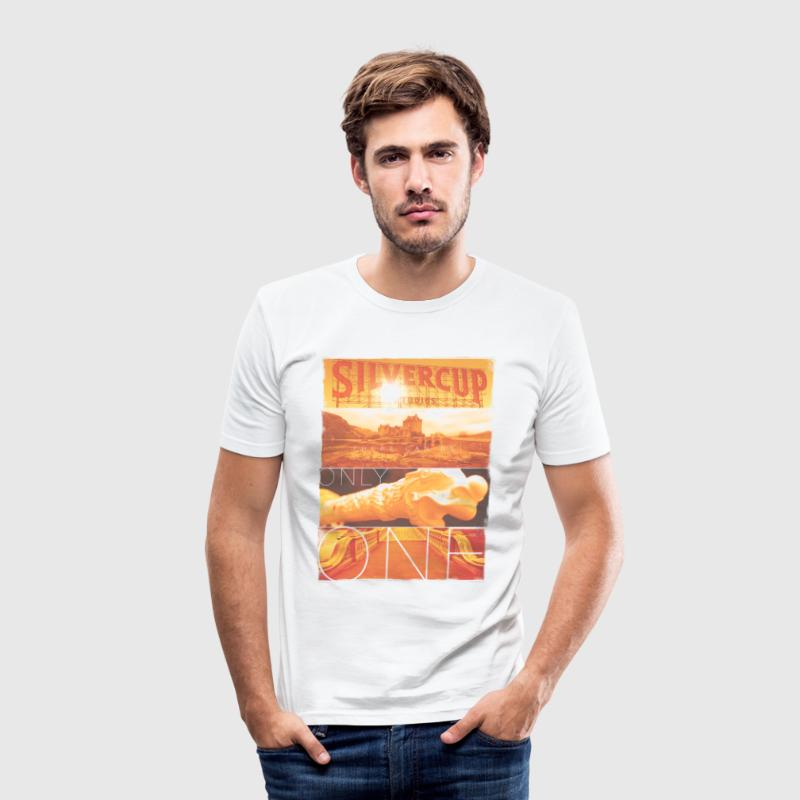 There Can Be Only One (inspired by Highlander) - Men's Slim Fit T-Shirt
