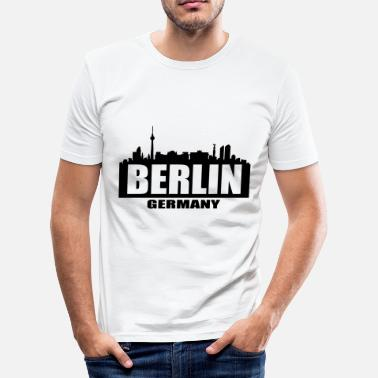 West Berlin Berlin - Men's Slim Fit T-Shirt