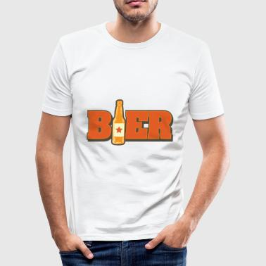 Trikot Party Bier Vintage Design Party Saufen Geschenk Trikot - Männer Slim Fit T-Shirt