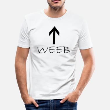 Web weeb - slim fit T-shirt