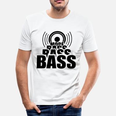 Basser More BASS * bas muziek basser bassist - slim fit T-shirt