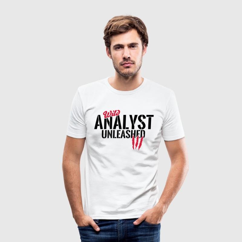 Unleashed vill analytiker - Slim Fit T-skjorte for menn