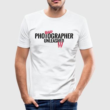 Unleashed wild photographer - Men's Slim Fit T-Shirt