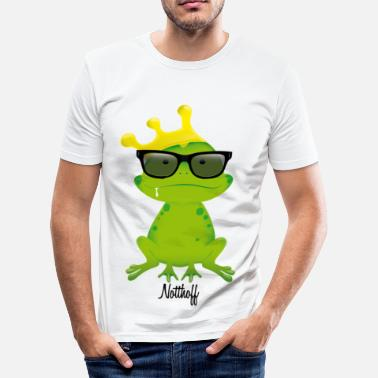 Frog Nerd Frog N - Men's Slim Fit T-Shirt