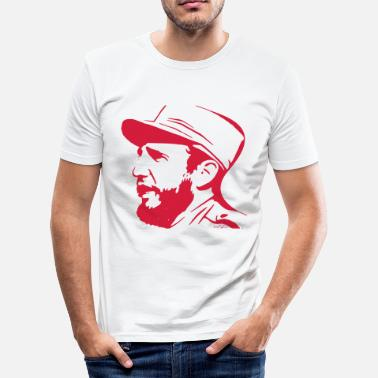 Fidel Castro Fidel Castro - Men's Slim Fit T-Shirt