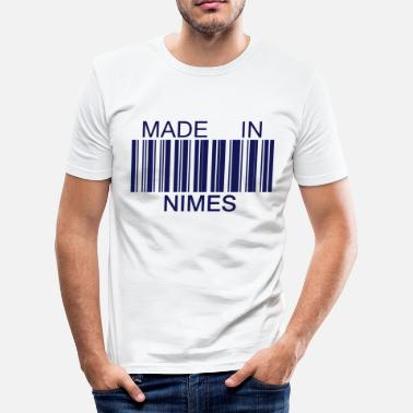 Nîmes Made in Nimes 30 Languedoc-Roussillon - T-shirt près du corps Homme