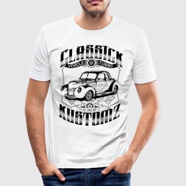 Hot Rod - Classick Kustomz (black) T-Shirts - slim fit T-shirt